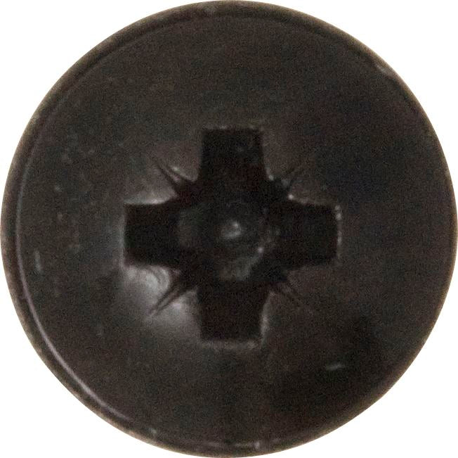 Self-Tapping Screws - Flanged Head - Black Pozi - Choose Size & Pack Quantity - JAR UK Industries