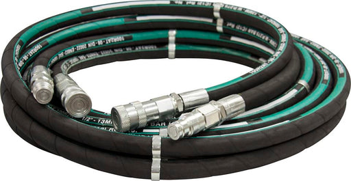 "1/2"" BSP Hydraulic Breaker Hose Sets - 6m - JAR UK Industries"