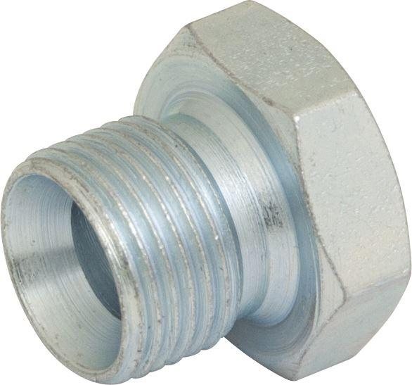 "Hydraulic BSPP Blanking Plug - 3/8"" - JAR UK Industries"