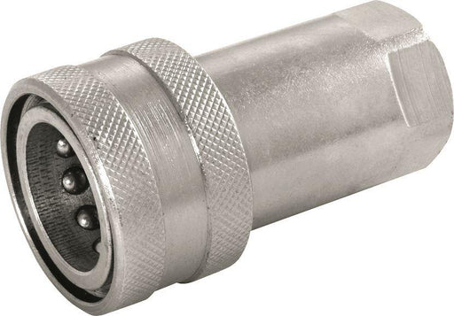 "Hydraulic Quick Release Coupling - Carrier (Female) - 1/4"" - JAR UK Industries"
