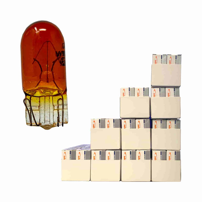 Indicator (Gold only) - 501A Amber Capless Bulb 5w | TX4 - JAR UK Industries