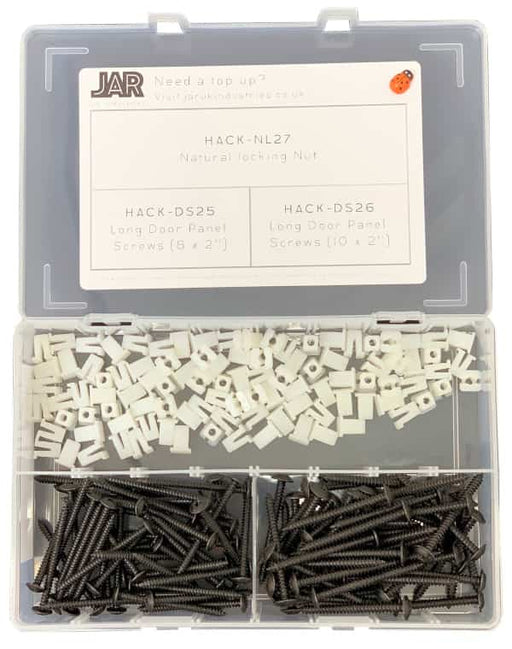 Black Cab Door Panel Fixing Collection | Assortment - JAR UK Industries