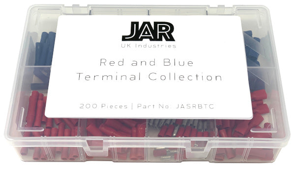 Red and Blue Terminal Collection | Popular Types | Assortment - JAR UK Industries
