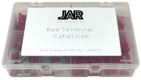 Red Terminal Collection | Popular Types | Assortment - JAR UK Industries