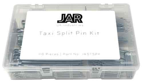 Black Cab Split Pin Kit (Bearing, Brake Pad, Track Rod End) | Assortment - JAR UK Industries