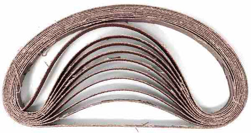 Sanding Belts - 10mm x 330mm - 80g - Norton - JAR UK Industries