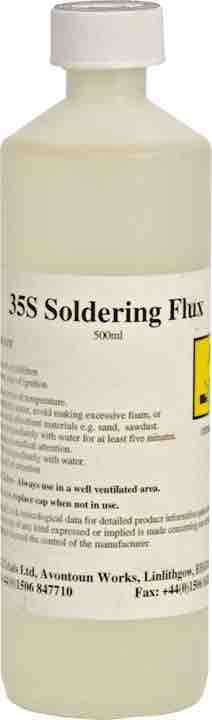 Soldering Flux - Liquid 500ml bottle - JAR UK Industries