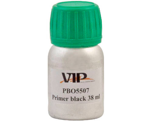 VIP Black Windscreen Activator Primer for Sealant/Bonder - 38ml Bottle - JAR UK Industries
