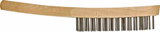 Wire Brushes - Wood Handle - 4-Row - JAR UK Industries