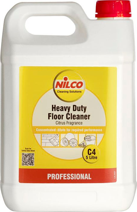Nilco C4 Heavy Duty Floor Cleaner - 5 Ltr
