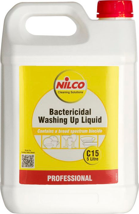 Nilco C15 Washing Up Liquid - 1:80 Dilution - 5 Ltr