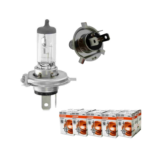 OSRAM Original 12v, H4, 60/55w, Triple spade fitting - 472 - JAR UK Industries