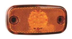 Perei Side Marker Lamp - LED - Amber - M11 - JAR UK Industries