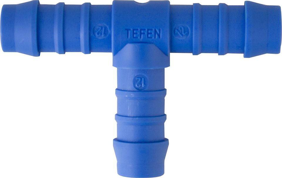 Nylon Hose Connectors - Equal Tee - Choose Size & Quantity - JAR UK Industries
