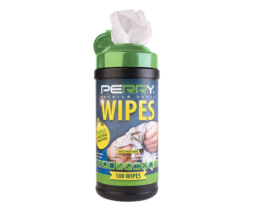 PERRY® Premium Range Anti-Bacterial Heavy Duty Trade Wipes - Pack of 100