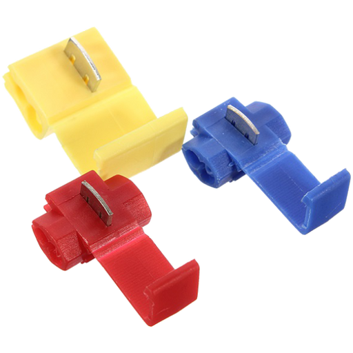 Quick Splice Connectors - Choose Colour (Pack 10, 100, 1000)