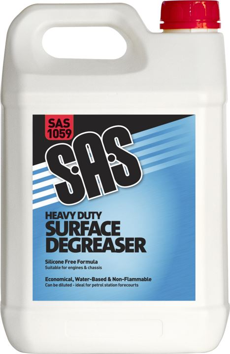 SAS Heavy Duty Surface Degreaser - 5 Ltr