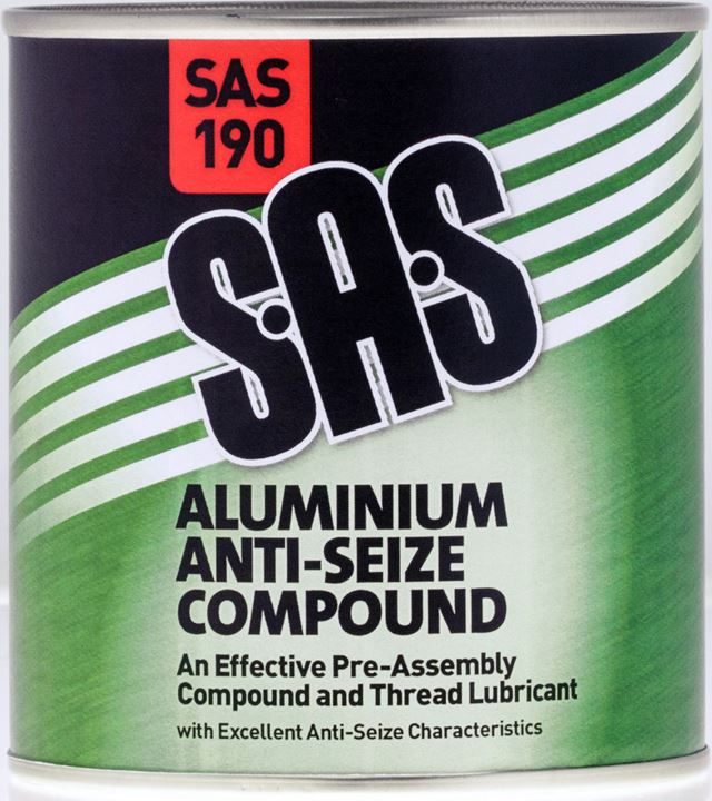 SAS Aluminium Anti-Seize Compound - 500g Tin