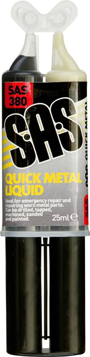 Quick Metal Liquid Syringe - 24ml - SAS - JAR UK Industries