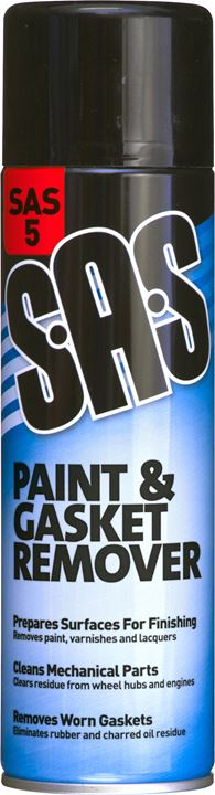 Paint & Gasket Remover - 500ml - SAS - JAR UK Industries