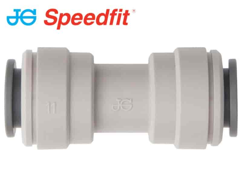 JG Speedfit® Push-Fit Tube Coupling - Straight - Imperial - Choose Size & Pack Quantity - JAR UK Industries