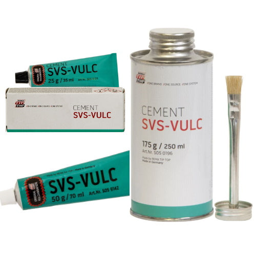 REMA TIP TOP 'Cement SVS-VULC' Vulcanising Fluid (Choose Size) - JAR UK Industries