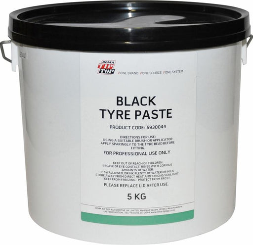 REMA TIP TOP Bead Paste 'Black Tyre Paste' (5 kg) - JAR UK Industries