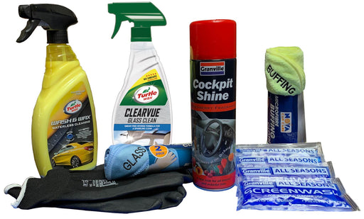 Interior & Exterior Waterless Wash Valeting Kit - JAR UK Industries