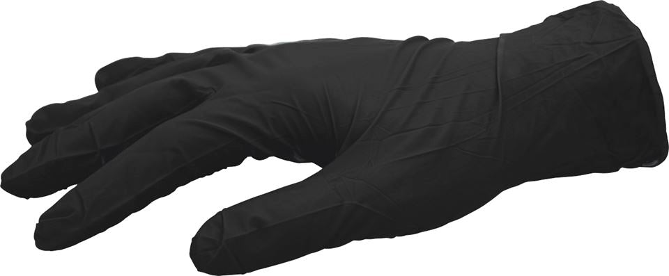 Black Pearl Nitrile Gloves - Unigloves (Choose Size) - JAR UK Industries