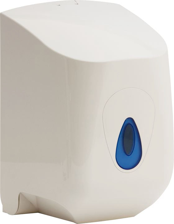 Wall Mounted Dispenser for Small Centrefeed Paper Rolls