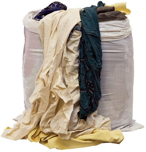 Rags in a Bag - Basic - Coloured - 10kg