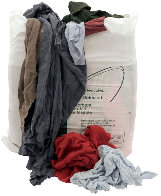 Rags in a Bag - General Purpose - Coloured - 10kg