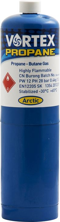 |X| - ARCTIC HAYES 'Vortex' Propane Gas Canister - JAR UK Industries