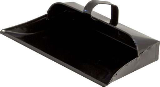 Dust Pan - Black Enamelled Metal