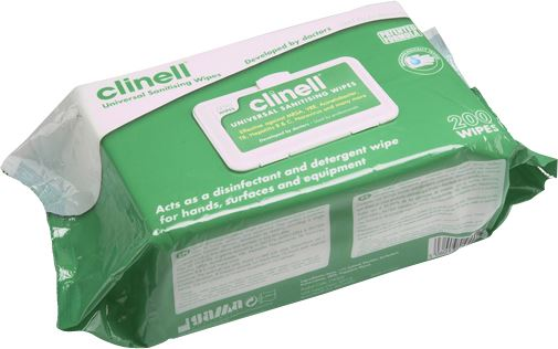 Multi-Purpose Sanitising Wipes - Alcohol Free - JAR UK Industries