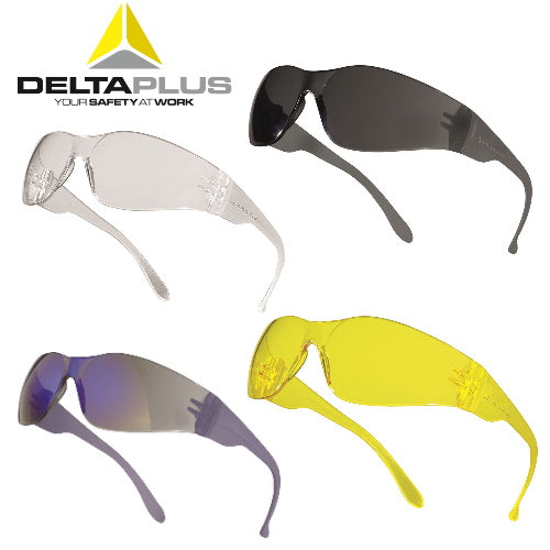 Monobloc Single Lens Safety Glasses - Deltaplus