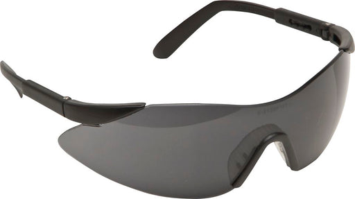 Frameless Adjustable Wraparound Safety Spectacles - Clear or Smoke Lens