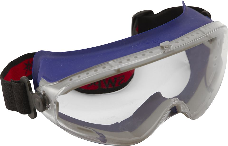 Ski Style Wide Vision Safety Goggles