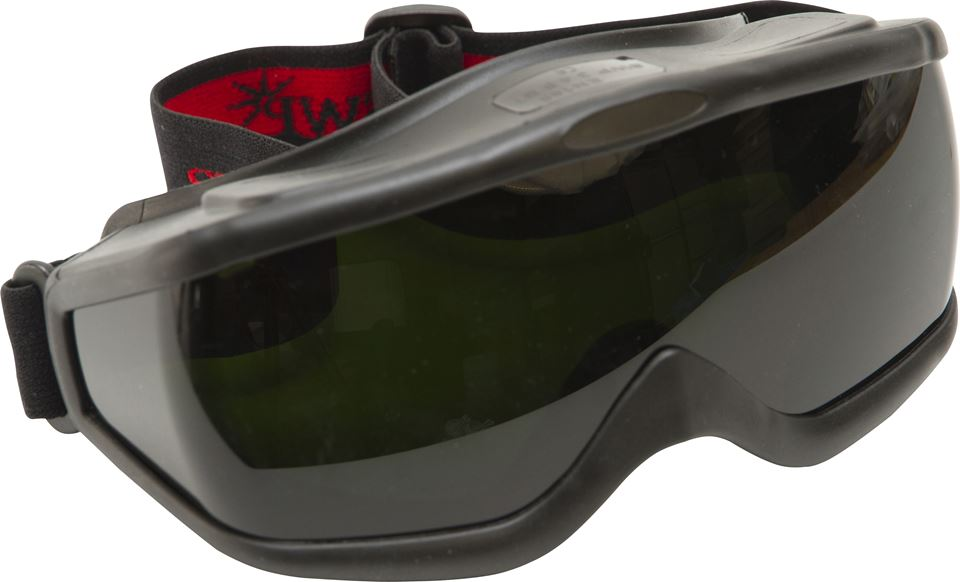 Wide Vision Welding Googles - Shade 5