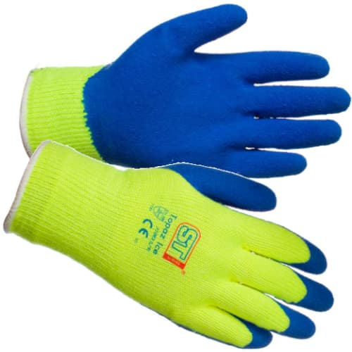 Latex Coated Gloves (Choose Size) - JAR UK Industries