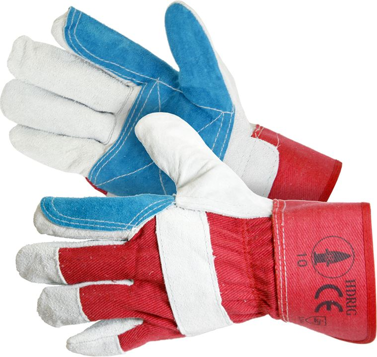 Hide Rigger Gloves - Heavy Duty (Choose Quantity) - JAR UK Industries
