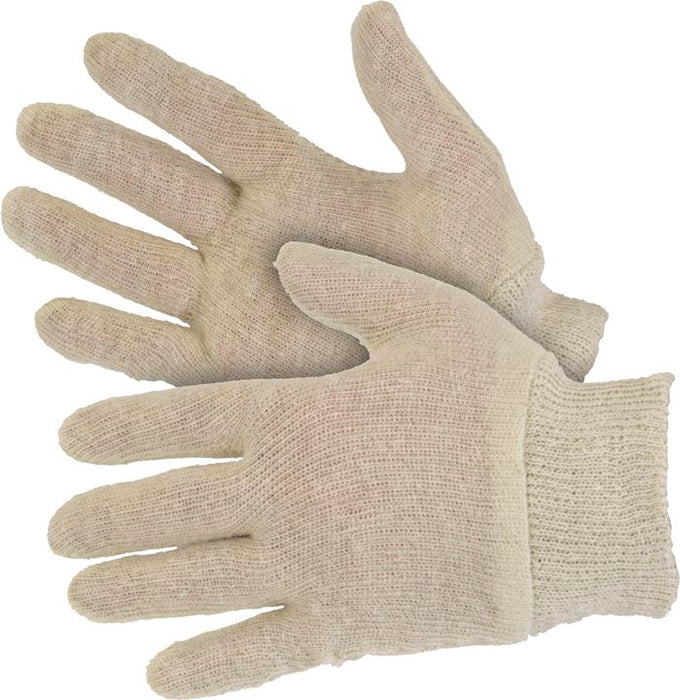 Knit Wrist Stockinette Gloves (Choose Quantity) - JAR UK Industries