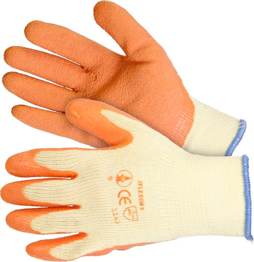 Latex Coated Grip Gloves (Choose Size) - JAR UK Industries