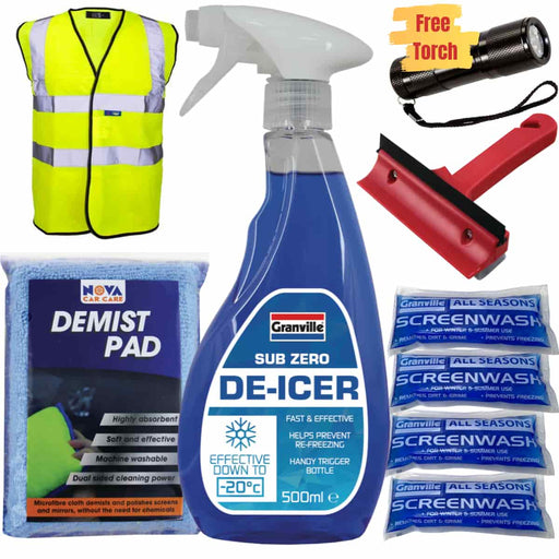 Car Winter Pack - Emergency Kit (Save 25%) - JAR UK Industries