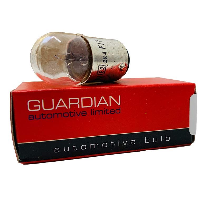 |X| - 150 Bulb - Side / Tail - BA15d - 24v 5w - Guardian - JAR UK Industries