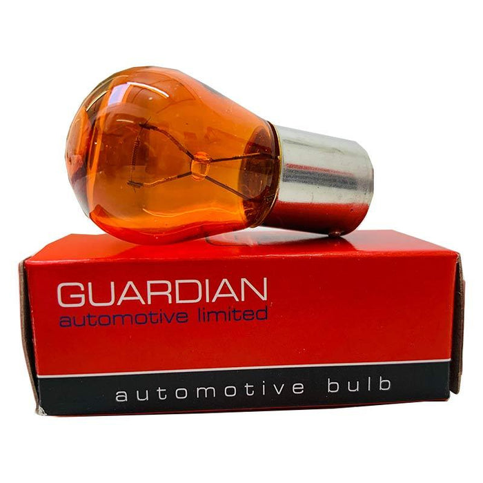 |X| - 581A Bulb - Amber Indicator - BAU15s - 24V 21w - Guardian - JAR UK Industries