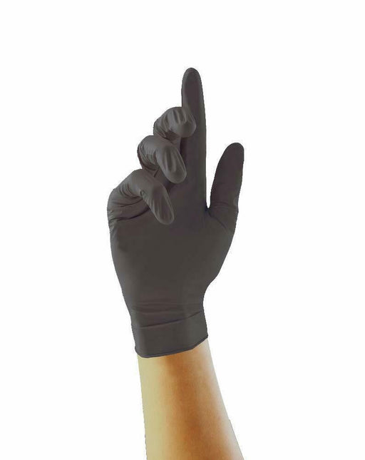 5 Pairs - Black Pearl Nitrile Gloves - Unigloves (Choose Size) - JAR UK Industries