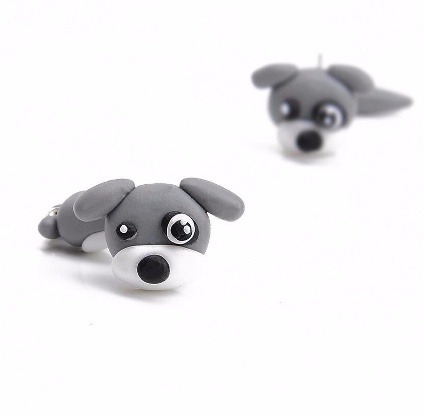 Cute Earrings shaped like dogs