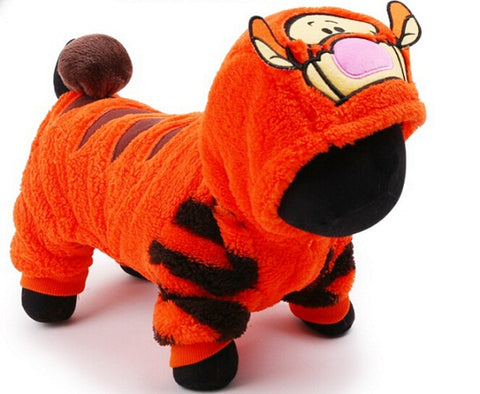 Fleece Tiger Onesie