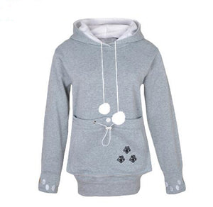 Hoodie with Pet carrying Pouch